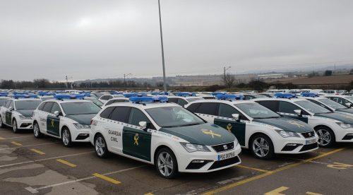 La Guardia Civil amplía su flota con 249 unidades del Seat León ST