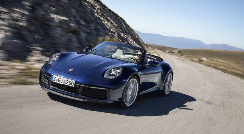 Porsche 911 Cabrio, la espectacular versión descapotable del clásico