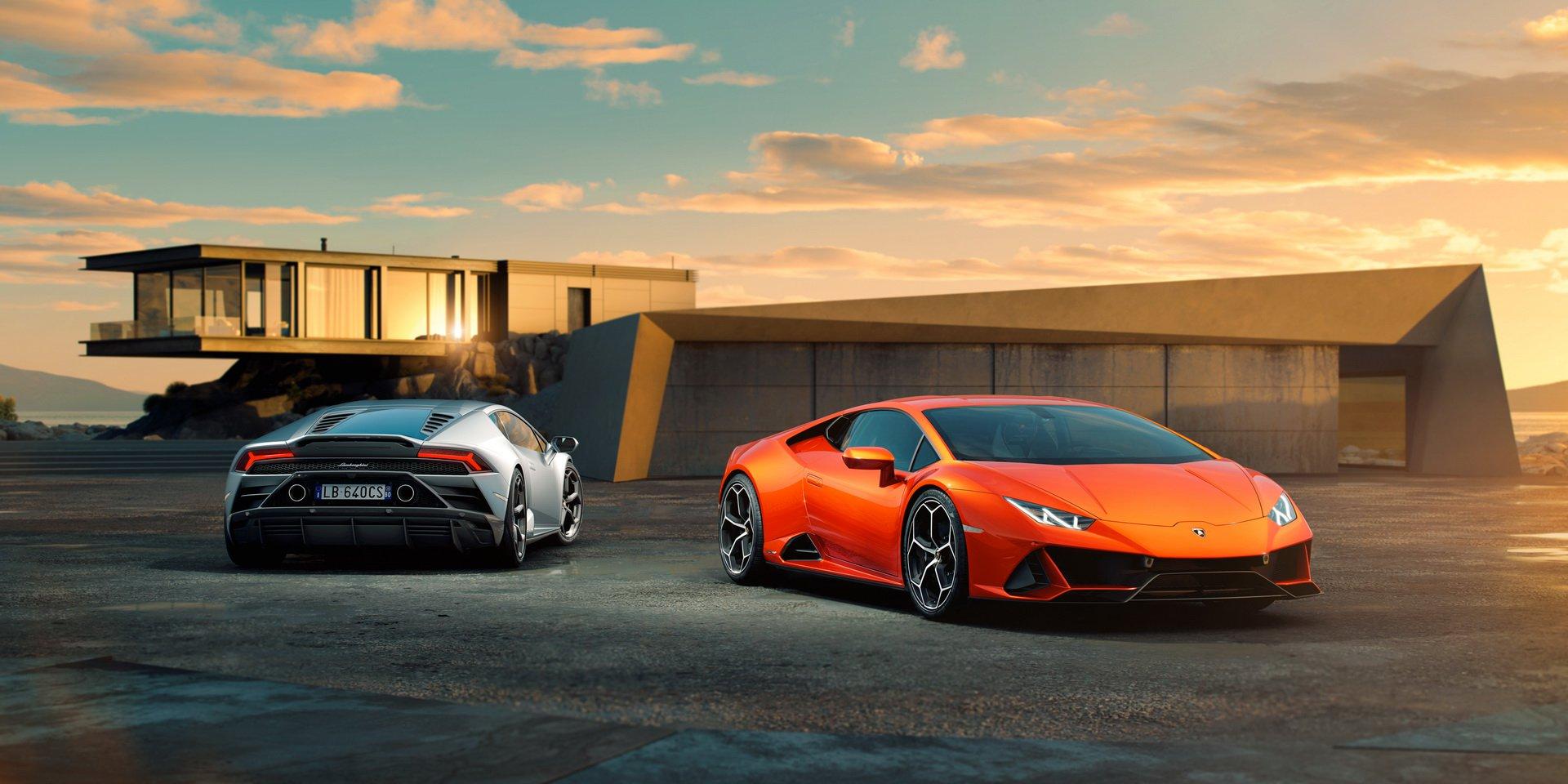 Las imágenes del Lamborghini Huracán EVO