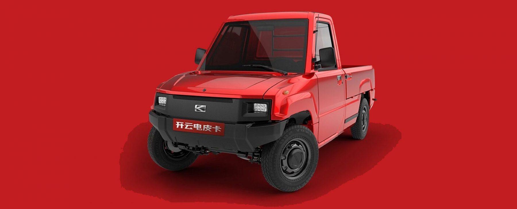 mini coche electrico Kaiyun Pickman