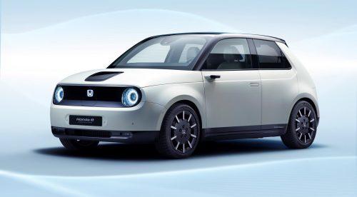 Honda e Prototype: pequeño, eléctrico y retro
