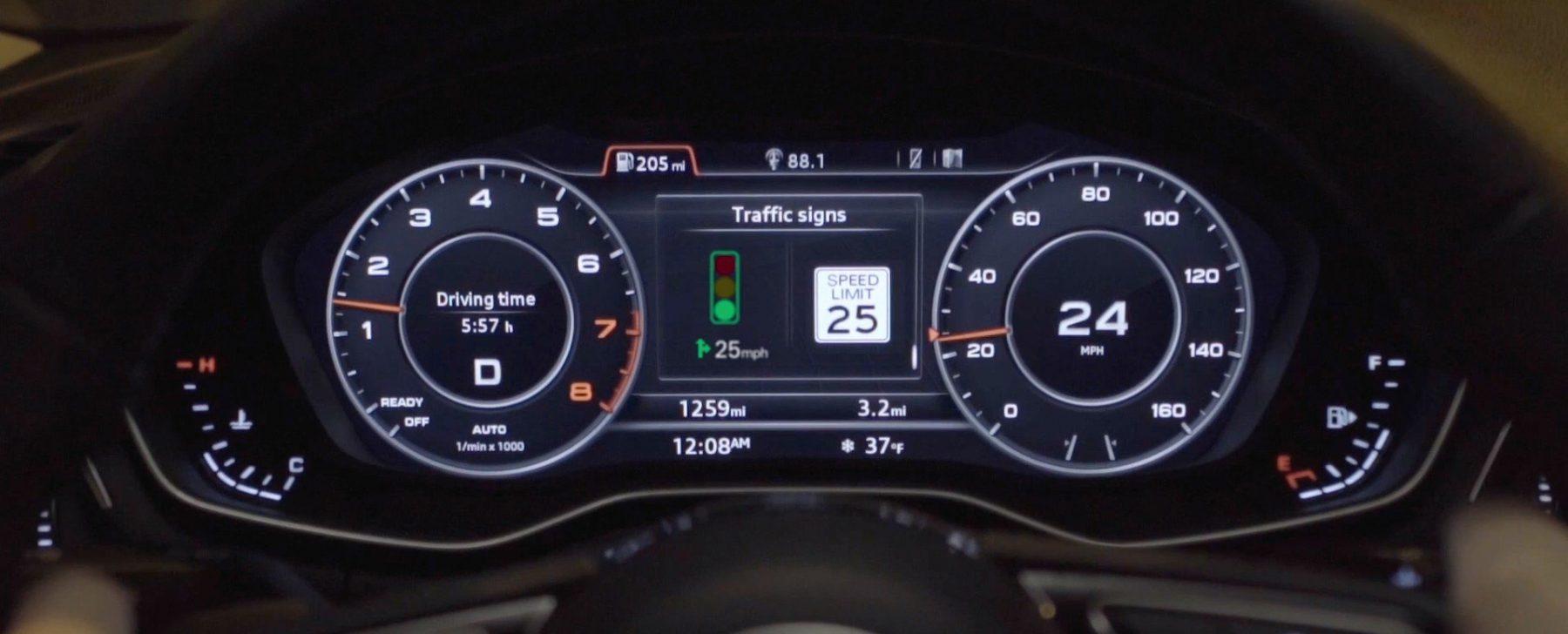 Audi semáforos