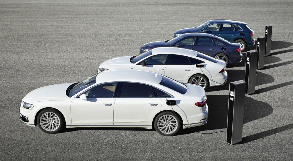 Híbridos enchufables Audi