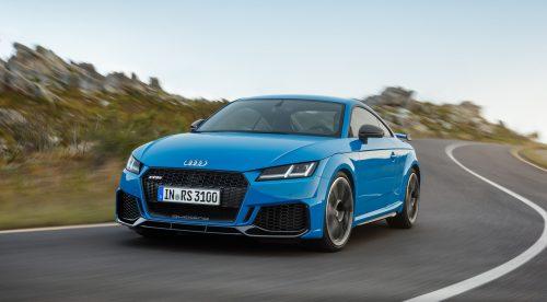Audi TT RS: 400 CV y mucho brío para la versión más deportiva del modelo
