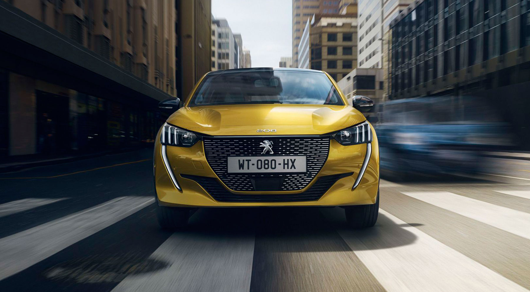 Las imágenes del Peugeot 208