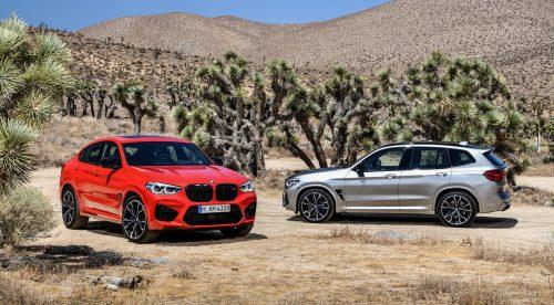 Los nuevos BMW X3 M y X4 M entran en escena con hasta 510 CV