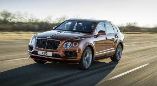 El Bentley Bentayga vuelve a ser el SUV más rápido del mundo