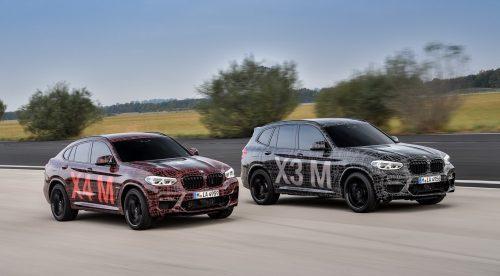 Los BMW X3 M y X4 M ya calientan motores
