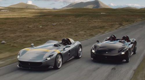 Así se mueven los exclusivos Ferrari Monza SP1 y SP2