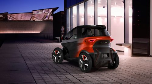 Seat Minimó, un urbanita eléctrico con baterías intercambiables