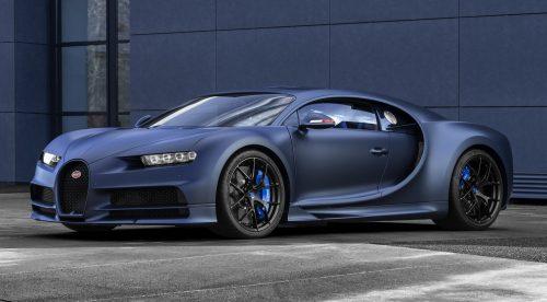 El curioso homenaje a Francia del Bugatti Chiron Sport