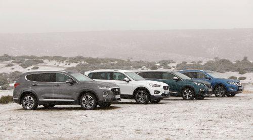 Comparativa: ¿cuál es el mejor SUV familiar de tamaño medio?