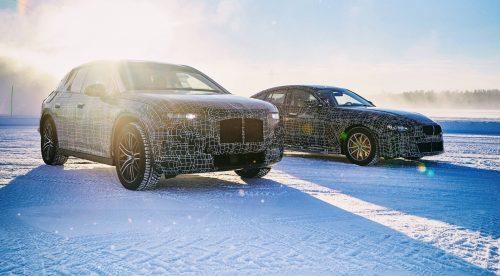 BMW pone a punto a sus futuros eléctricos: i4, iX3 e iNext