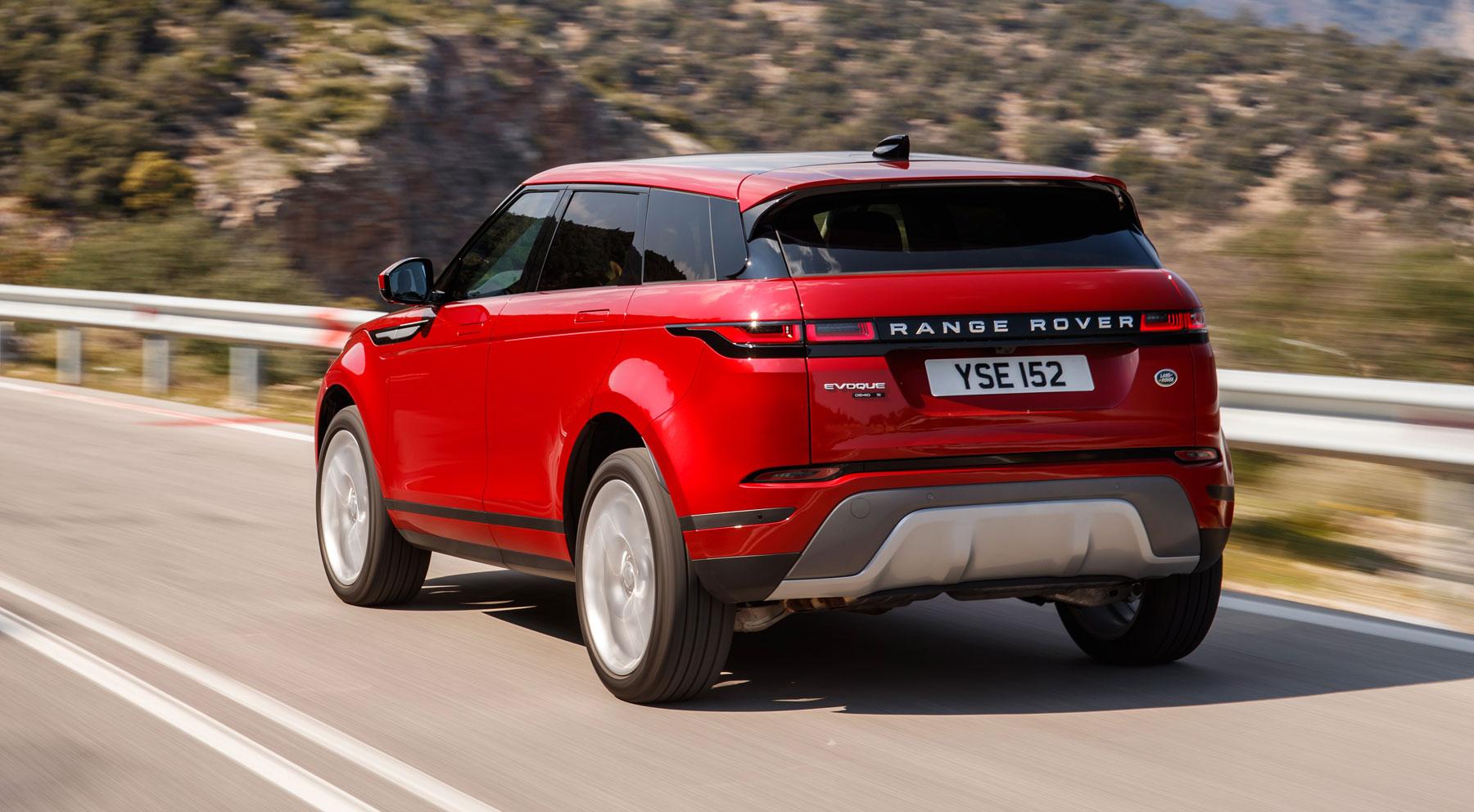 Así es el nuevo Range Rover Evoque