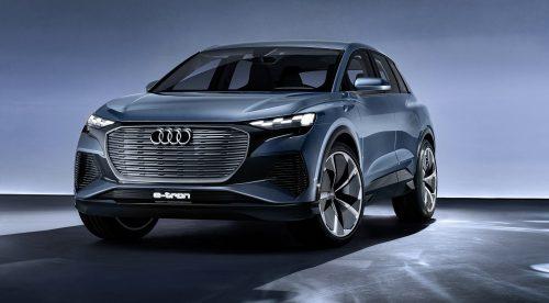 Audi Q4 e-tron: adelanto del nuevo SUV eléctrico
