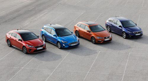 Comparativa: ¿cuál es el mejor coche compacto con carrocería familiar?
