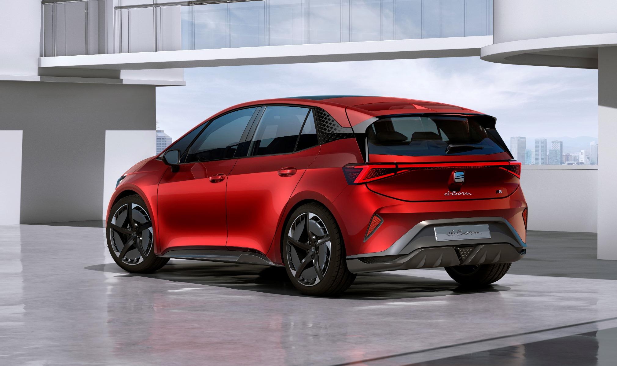 Así será eI-Born, el primer coche 100% eléctrico de Seat