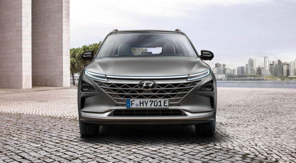 Hyundai Nexo, el gran SUV de hidrógeno: todas las imágenes