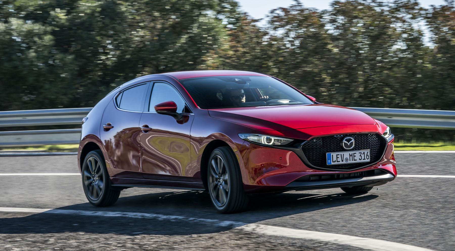 El Mazda3, desde todos los ángulos