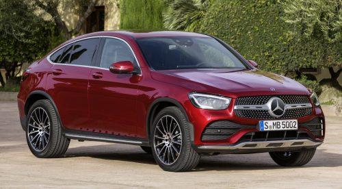 Mercedes GLC Coupe 2019: mucha tecnología y motores microhíbridos