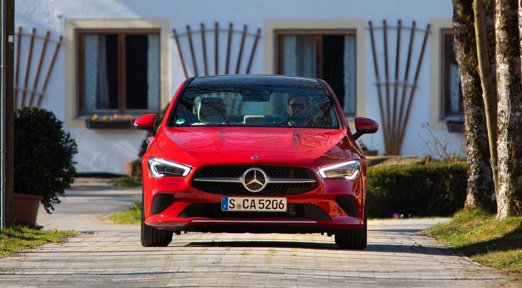 Las imágenes del nuevo Mercedes CLA