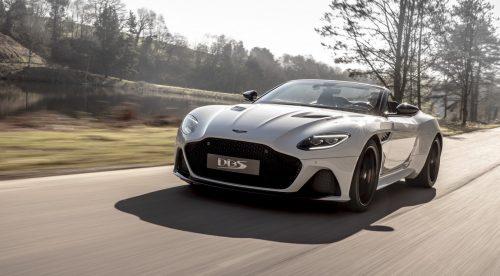 Aston Martin DBS Superleggera Volante: un descapotable velocísimo