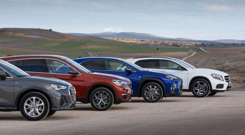 Comparativa: cuatro SUV compactos con los que todo el mundo sueña