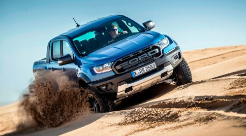 Ford Ranger Raptor, un 'pick-up' de altos vuelos