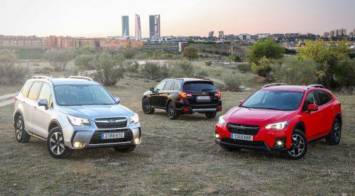 Subaru se pasa al GLP