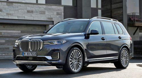 BMW X7, un SUV colosal para familias numerosas