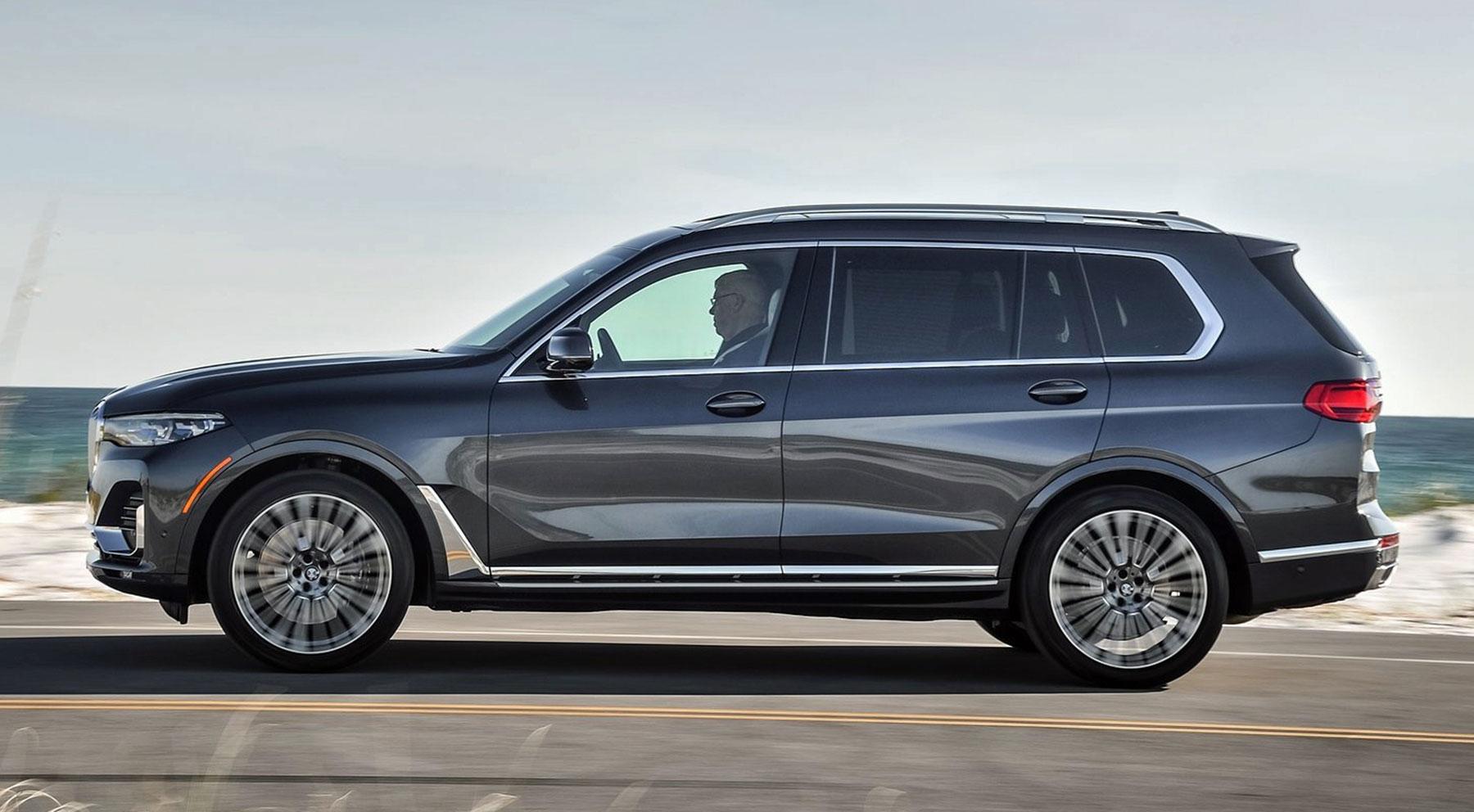 El imponente aspecto del BMW X7