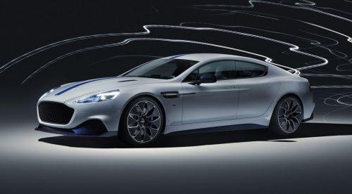 Aston Martin Rapide E: 610 CV y 322 kilómetros de autonomía eléctrica