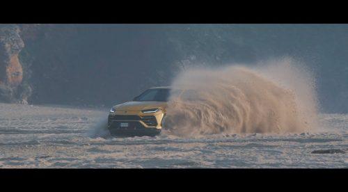 Al Lamborghini Urus no le asusta la arena