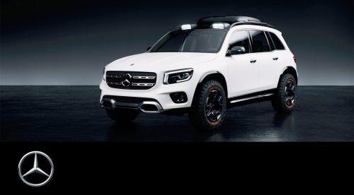Mercedes Concept GLB: así será el SUV compacto de siete plazas