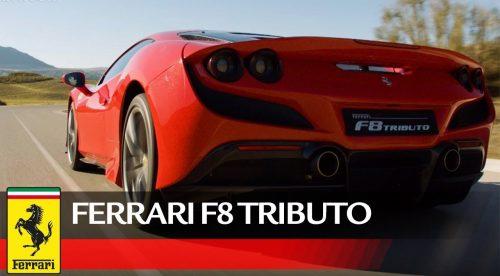 El Ferrari F8 Tributo presume de prestaciones