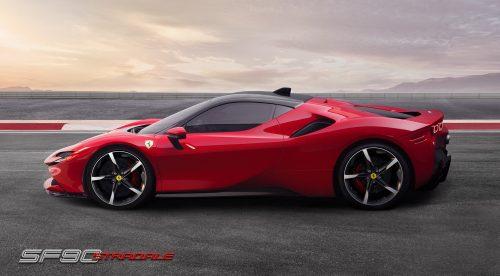 Ferrari SF90 Stradale: un super híbrido enchufable de 1.000 CV