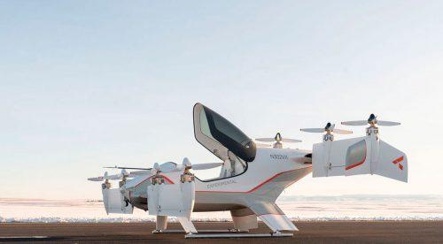 El Alpha Two adelanta el taxi volador de Airbus