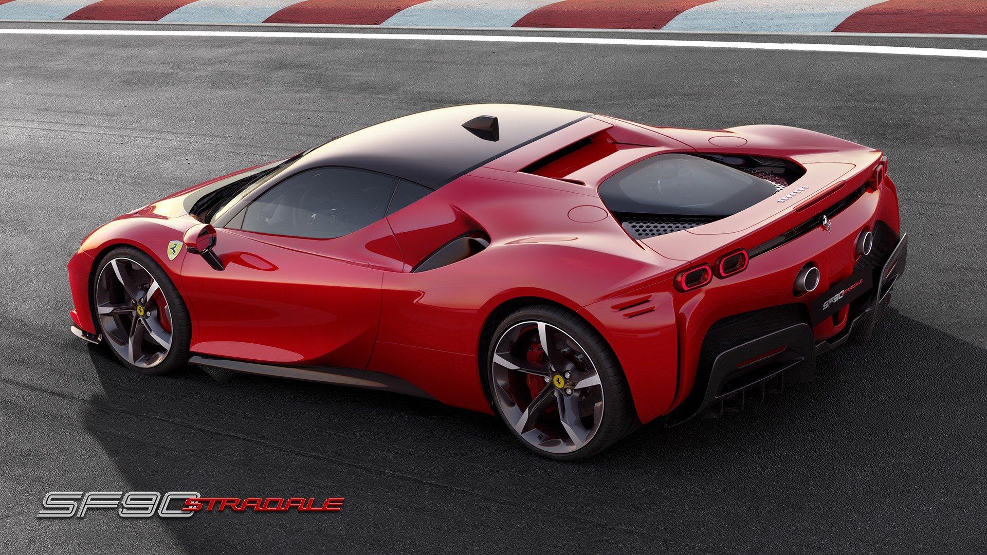 Todas las imágenes del Ferrari SF90 Stradale