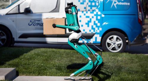 Lo último de Ford es un robot autónomo que hace de repartidor