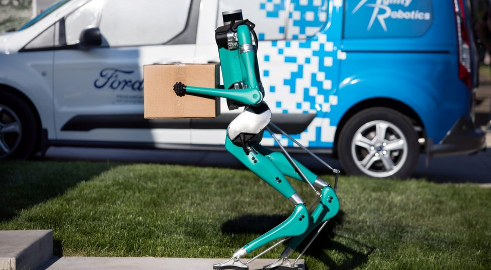 Ford robot autonomo