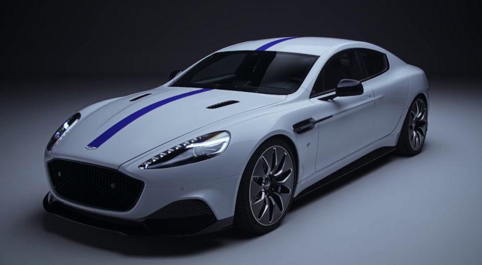 Aston Martin electrico