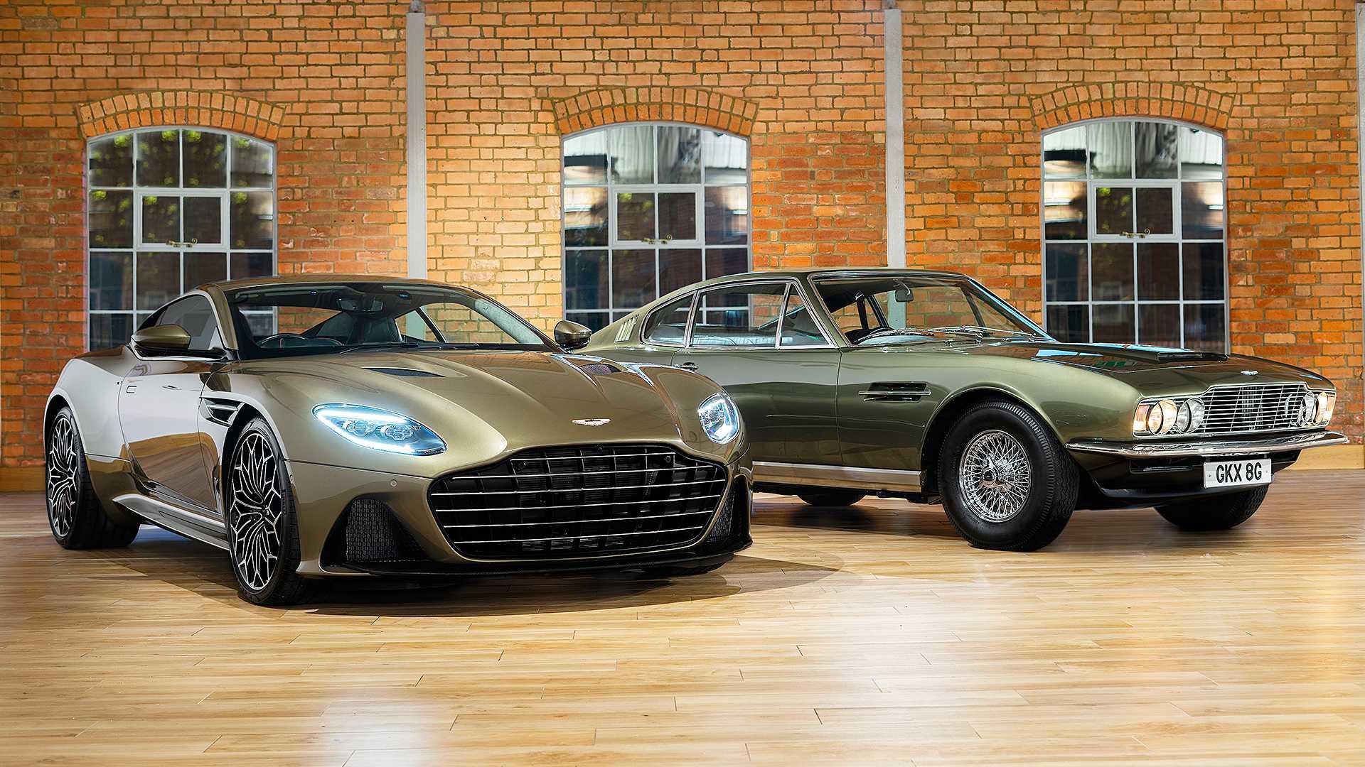 Aston Martin Pone El Dbs Superleggera Al Servicio De Su Majestad