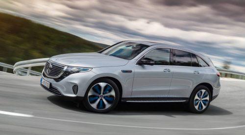 El SUV eléctrico Mercedes EQC sale a la venta por 77.425 euros