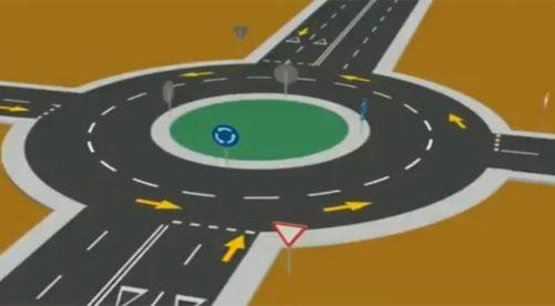 El nuevo vídeo de la Guardia Civil para aclarar el uso de las rotondas