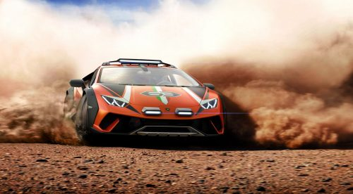 Lamborghini Huracán Sterrato, el superdeportivo que juega en el campo