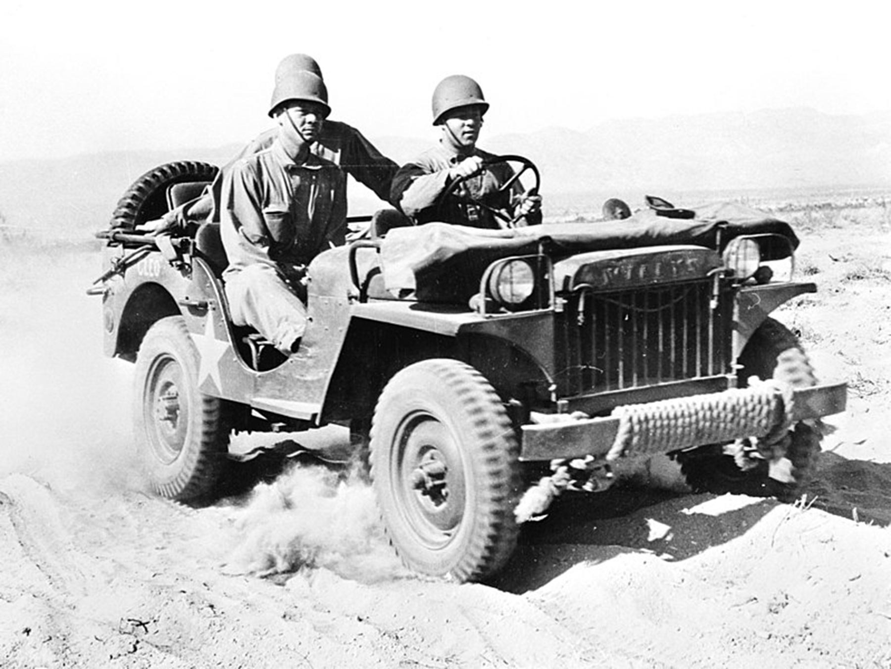 second world war cars