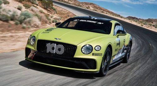 El Bentley Continental GT quiere ser el coche de serie más rápido en Pikes Peak