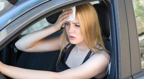 Por qué el calor puede ser tan peligroso como el alcohol al volante