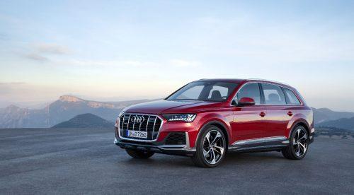 El Audi Q7 recibe más tecnología y sistemas microhíbridos