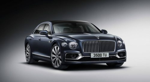 El Bentley Flying Spur mantiene su nivel de gran lujo